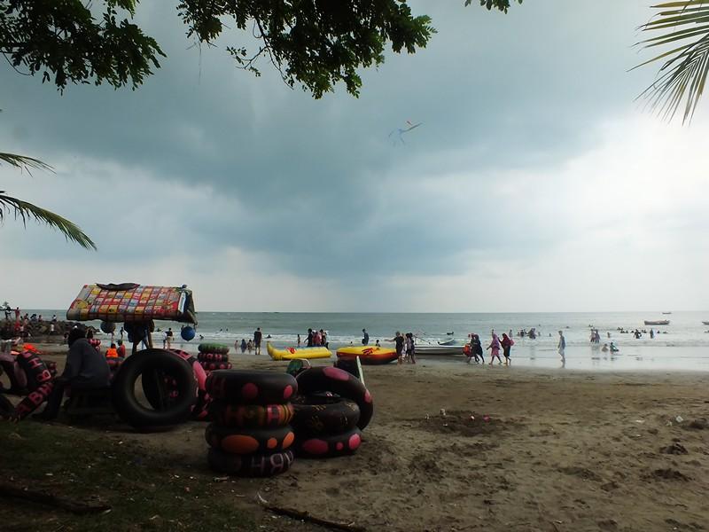 Pantai Batu Saung, Anyer, Banten