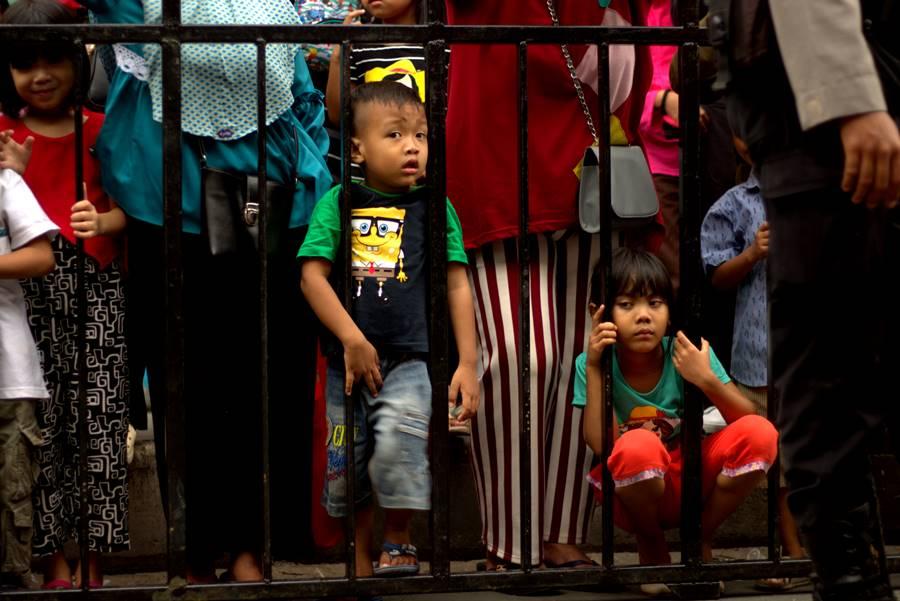 Mimik Polos Anak-Anak Menyenangkan Untuk Difoto