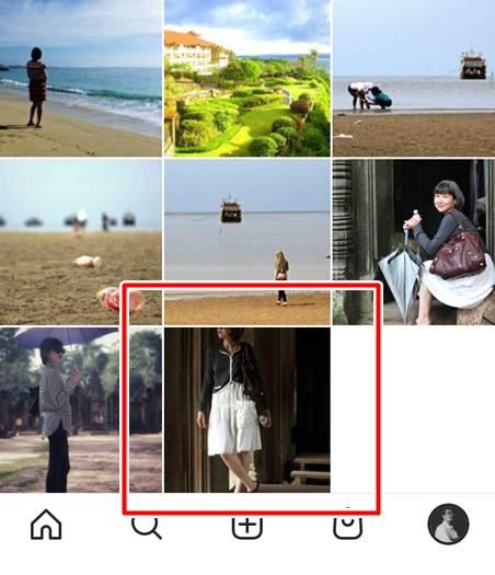 Foto Vertikal Kurang Pas Untuk Tampilan Instagram Grid